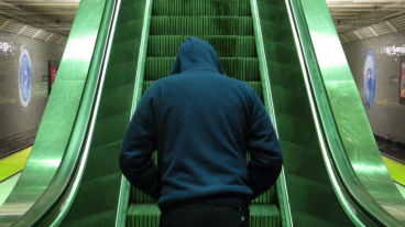 Tim Roseborough Escalator, 2013 Single-channel video, sound 3 min 29 sec loop