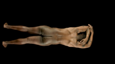 Still from Evie Leder's The Objects, multi-channel digital video, 2014