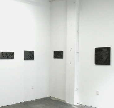 Installation view of Scott Kildall: Bad Data at Black & White Projects (formerly ASC Projects)