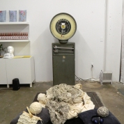 Installation view of Yarns by Chris Evans